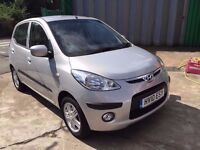2010 HYUNDAI I10 COMFORT 1.2 AUTOMATIC, GENUINE 15,000 MILES, F/S/H, HPI CLEAR. FINANCE AVAILABLE