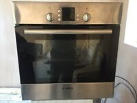 Bosch Electric Stainless Steel Oven in Mint condition for sale