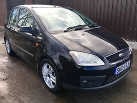 FORD C MAX 1.6 TDCI , MOT TILL APRIL 2018. CHEAP CAR CAN DELIVER ANYWHERE AT COST