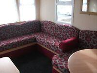 abi static caravan 36x12ft 3 bedroom .sited kiln park tenby