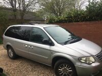 Chrysler Grand Voyager 7 seater excellent condition
