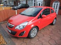 vauxhall corsa excite 1,2 petrol facelift