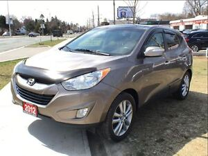 2012 Hyundai Tucson LIMITED AWD LEATHER ROOF