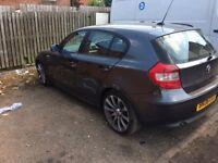 "2006 Bmw 118D se model 5-Door met grey 160k mot 18"" MV Alloys Drives we'll bargain £1495"