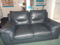 Leather Sofa Two Seater Soft very comfartable in excellent condition can deliver Free local