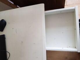 Ex Ikea desk white