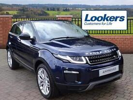 Land Rover Range Rover Evoque TD4 SE TECH (blue) 2016-09-01