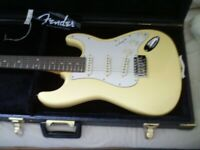 CUSTOM STRAT GUITAR. EXCEPTIONAL CONDITION with HARDCASE.