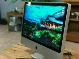 Apple iMac 24' 2.93Ghz Core2Duo 8GB 640GB HDD Logic Pro X Ableton 9 Reason Pro Tools 10 Waves