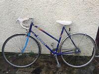 ** 1990s Vintage peugeot racing bike **
