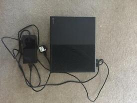 Xbox one with controllers and games
