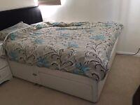King Bed and Mattress Set