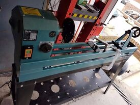 CLARKE WOODWORKER 40'' WOOD LATHE WITH REINFORCED STAND