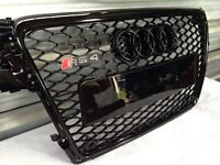 Audi A4 B8 RS Style Grille Black
