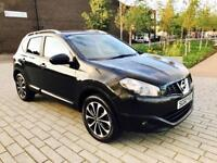 NISSAN QASHQAI 1.5 N-TEC DCI 5d 105 BHP PAN ROOF / BLUETOOTH / CL (black) 2010