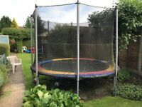 10 Foot Round Tramponline in good condition
