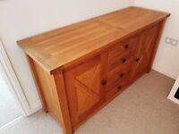 Solid Oak Provence Sideboard
