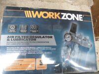 brand new boxed air regulator/ lubricator
