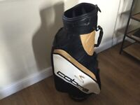 Cobra leather golf bag