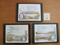 "Pimpernel Irish Heritage Series. 6 place mats 12"" by 9"" still boxed. Unused."