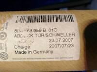 Audi side mouldings