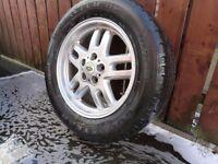 "Land Rover Range Rover 18"" Deep Dish Alloy Wheel Goodyear Tyre"