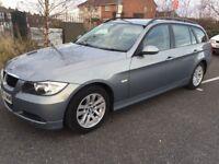 BMW 320D 2006 DIESEL ESTATE 12 MONTHS MOT FULL SERVICE £1700