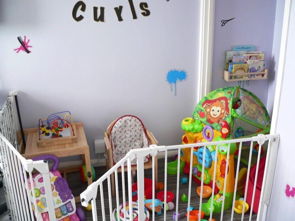 BabyStart playpen and room dividergate Argos version of BabyDan