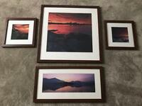 4 x Framed Landscapes Pictures