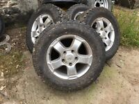 Toyota Landcruiser Alloy Wheels and Tyres