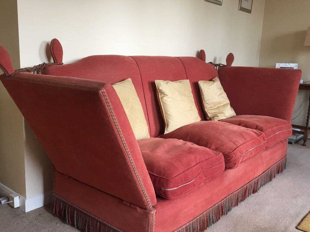 Antique knole sofa x2 will sell separately 250 each in for Sofa 250 x 200