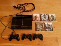 Sony PlayStation 3 40Gb with Games & Controllers