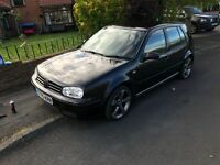 Tastefully modified vw golf 1.8 turbo gti very clean for its age full m.o.t sale / swap