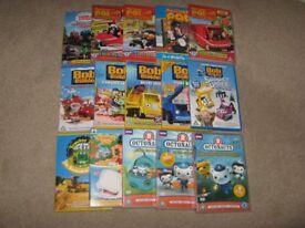 Kids DVD Collection, Thomas, Octonauts, Bob the builder, Postman Pat
