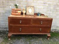 QUEENS ANNE CABINET CHEST/TV. TABLE FREE DELIVERY SIDEBOARD