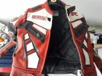Kids Yamaha R leather jacket