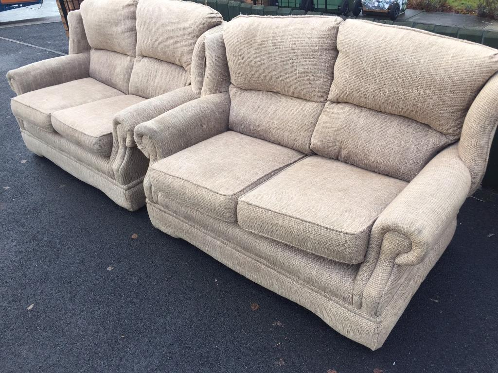 Stokers sofas can deliverin Penny Lane, MerseysideGumtree - Stokers sofas for sale selling for £50 they were very expensive new no damage to them cottage style can deliver