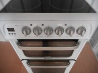 """HOTPOINT""""ULTIMA""""DOUBLE OVEN FAN ASSISTED COOKER"""
