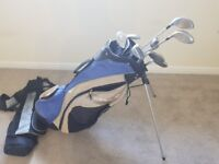 Woman's golf clubs set