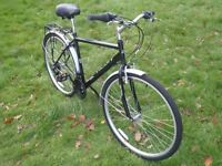 "Raleigh Designed Activ Commute Mens Hybrid - 20"" Frame/18-Speed/Pannier/Mudguards - RRP £210"