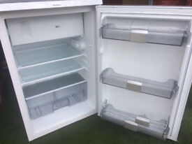 blomberg FROST FREE UNDER COUNTER FRIDGE WITH FREEZER COMPARTMENT FREE DELIVERY