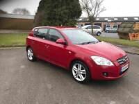 2008 Kia ceed 1.6 crdi 5 door 12 months mot/3 months parts and labour warranty