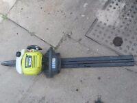 Ryobi 26cc Petrol Hedge Trimmer with Hedge Sweep - RHT2660R