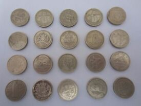 20 Old Pound Collectible Coins