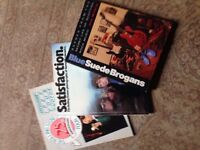 Books - music Rolling Stones and Suede Brogans
