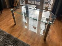 Immaculate 3 Level Glass TV Stand