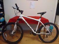 "Carrera ""Kraken"" 2011 20"" Mountain Bike 27 speed with equipment"