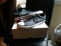 Black and grey converse for sale