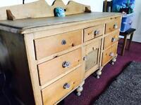 Antique Lancashire Dresser sideboard 1850's