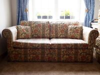 SOFA BED - Relyon 3 seater. Extremely comfortable sofa, excellent quality wooden slated bed.